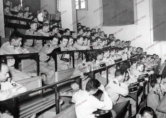École d'Application du Pharo à Marseille (1930) -  Promotion 1954 du Pharo