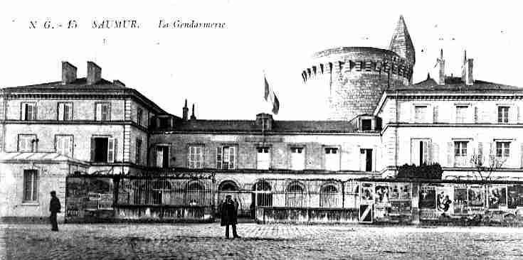 La prison et la gendarmerie de Saumur sous la Monarchie de Juillet