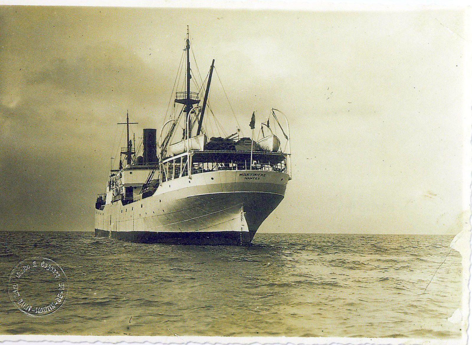 À bord du « Martinière » | L'Histoire