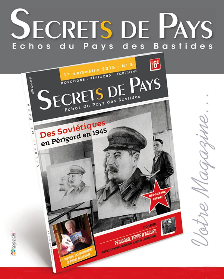 """Secrets de PAYS - Échos du Pays des Bastides - En avant-première, voici quelle sera la couverture du n° 5 du magazine """"Secrets de Pays""""… Du lourd ! De l'inédit !! En un mot : du Secrets de Pays !!!"""