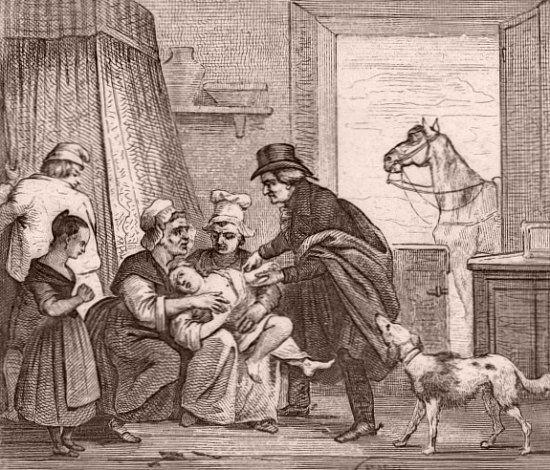Le médecin de campagne au XIXe siècle