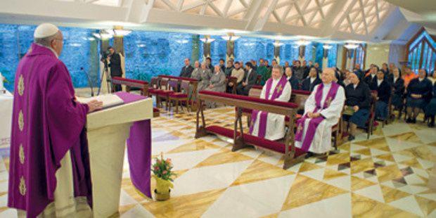&quot&#x3B;On ne se convertit pas d'un coup de baguette magique&quot&#x3B; - Pape François