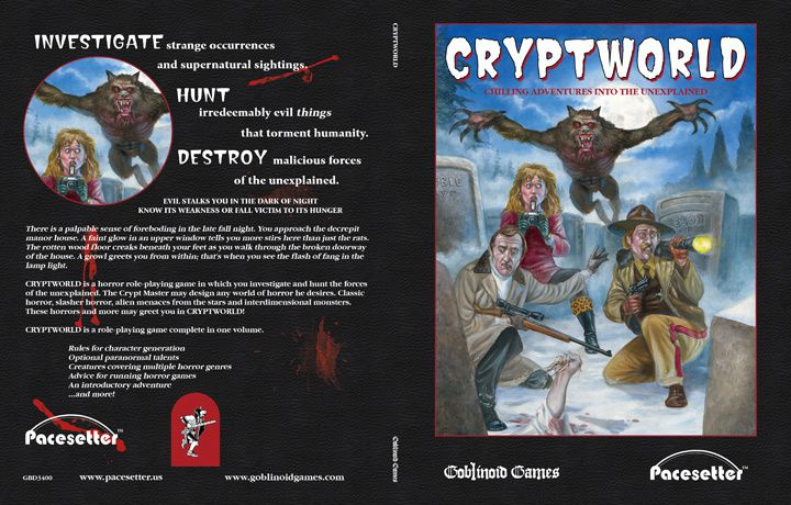 Cryptworld, le retro-clone de Chill