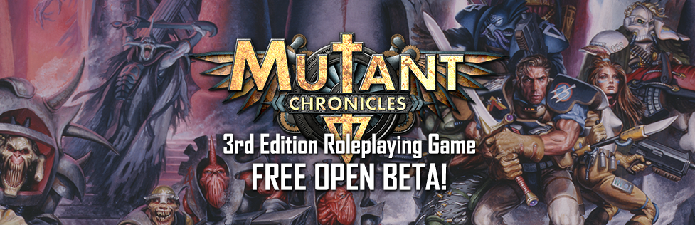 Mutant Chronicles III en beta-test