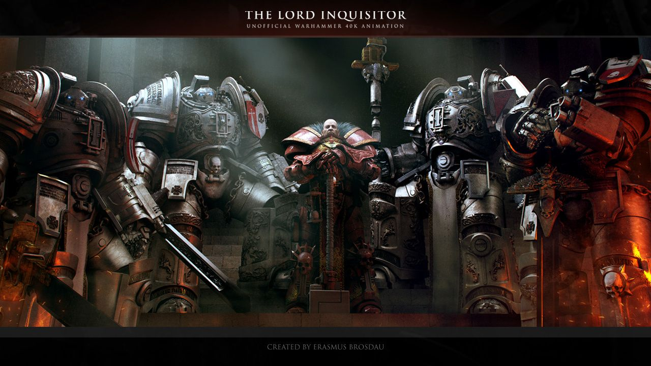 &quot&#x3B;The Lord Inquisitor&quot&#x3B; (Warhammer 40K)