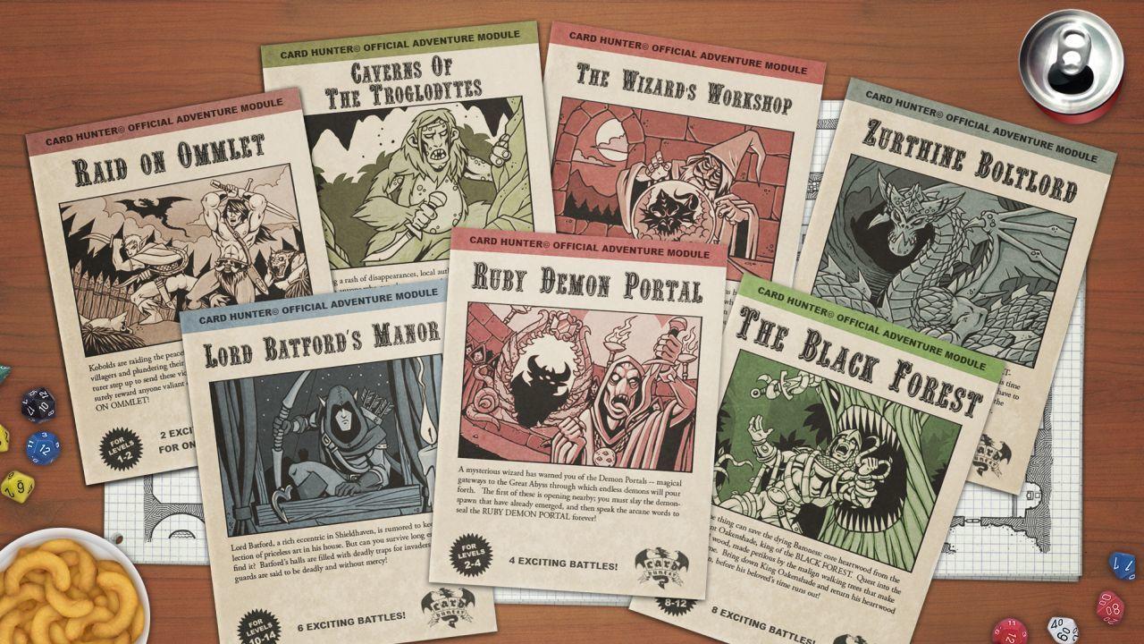 """(ça n'a aucun rapport, mais juste pour le fun, voici une image tirée du jeu online """"Card Hunter"""" : old school, isn't it ?)"""