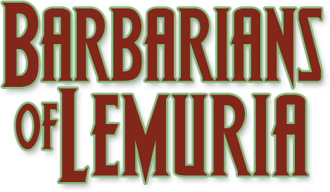 Barbarians of Lemuria illustration E.Roudier