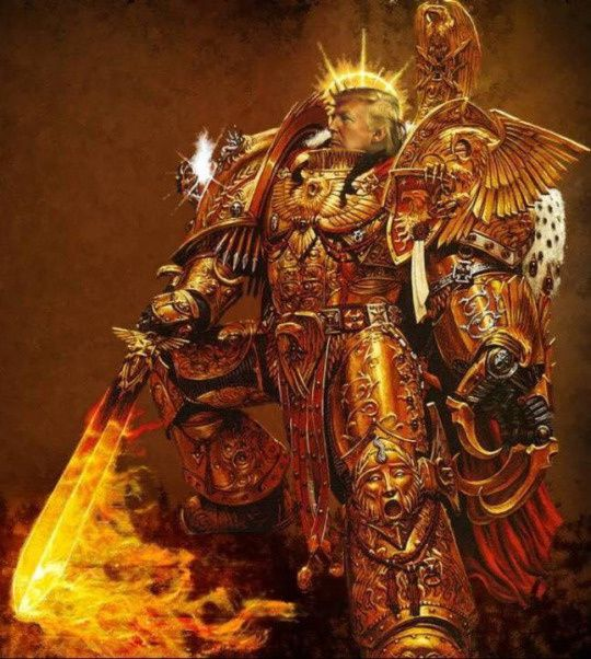 Hail God Emperor !