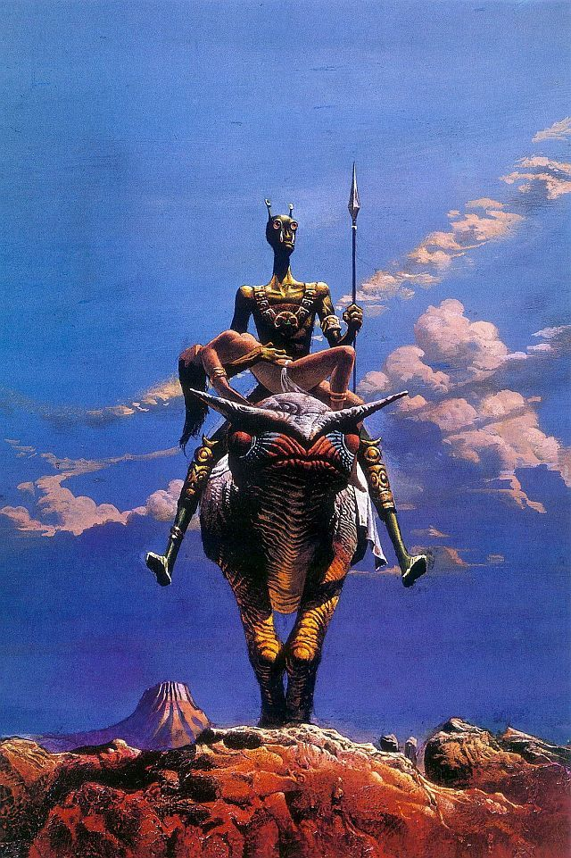"""a princess of Mars"", Bruce Pennington"