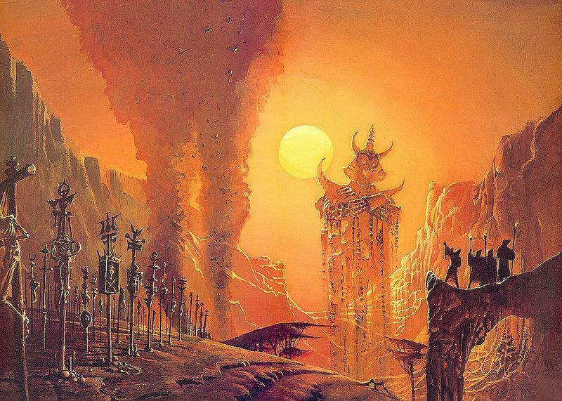 """Lost Worlds"", by Bruce Pennington"