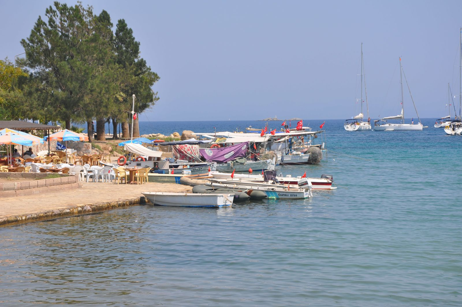 En vacances sur les côtes de Turquie