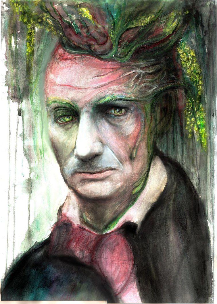 """""""Les fleurs de Baudelaire"""", KatarinaRss, Déviant Art, 2012"""