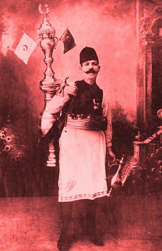Vendeur de sirop ottoman