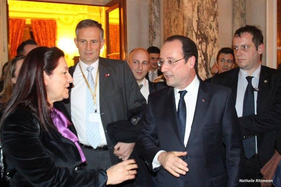 Photo réalisée par Nathalie Ritzmann. Au centre, Monsieur Billi, Ambassadeur de France en Turquie.