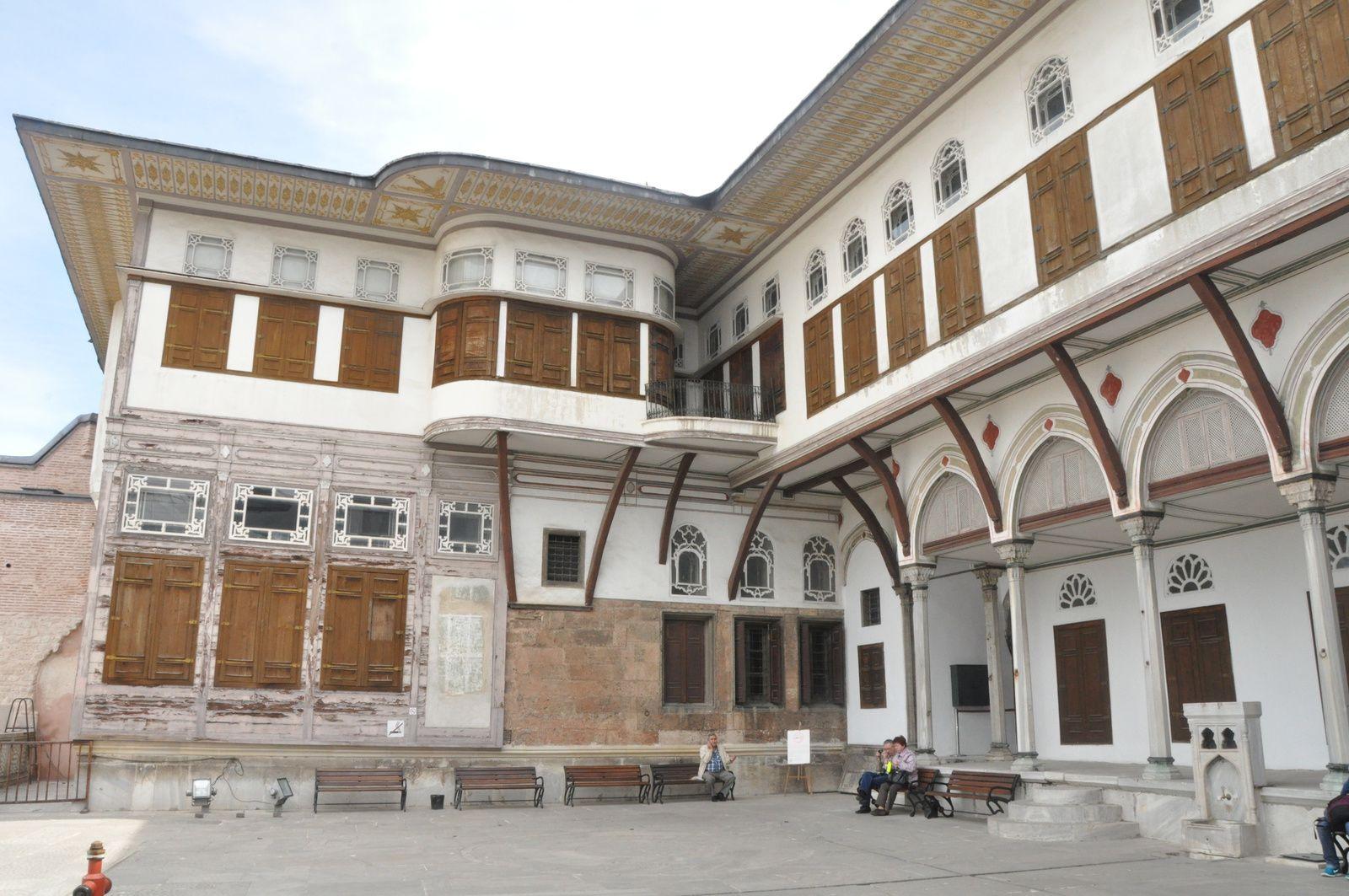 Istanbul : petits détails captant le regard dans Topkapi