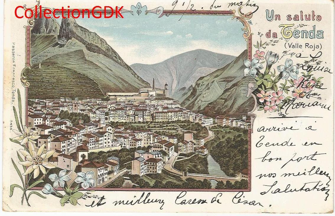 Tende en 1902