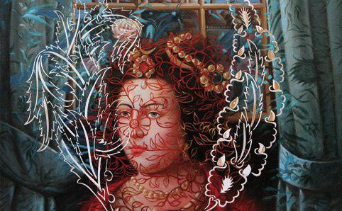 Ismail Acar, né en 1971, connu pour sa façon créative d'interpréter l'histoire turque,comme dans cette toile représentant la sultane Hürrem…