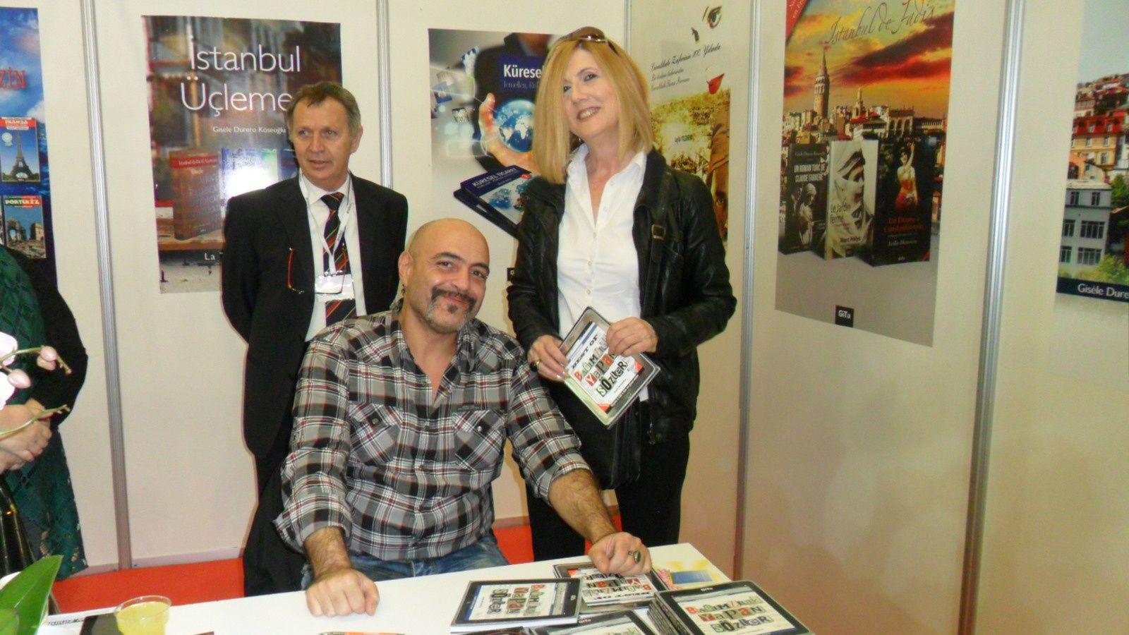 L'écrivain Avédis Aktenoglu...