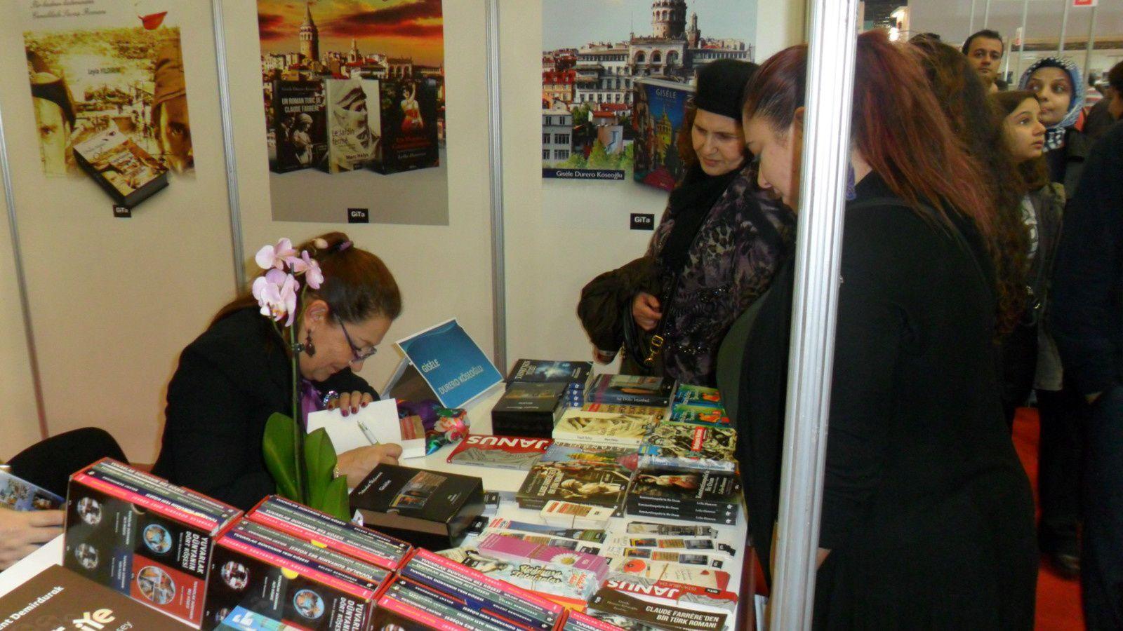Les Editions GiTa au Salon du Livre d'Istanbul 2014