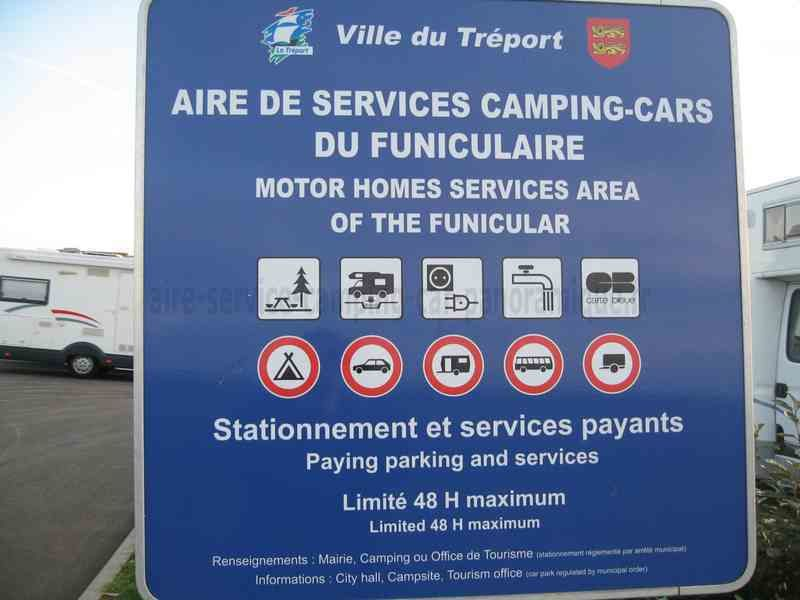 AIRE A LE TREPORT ( 76 )