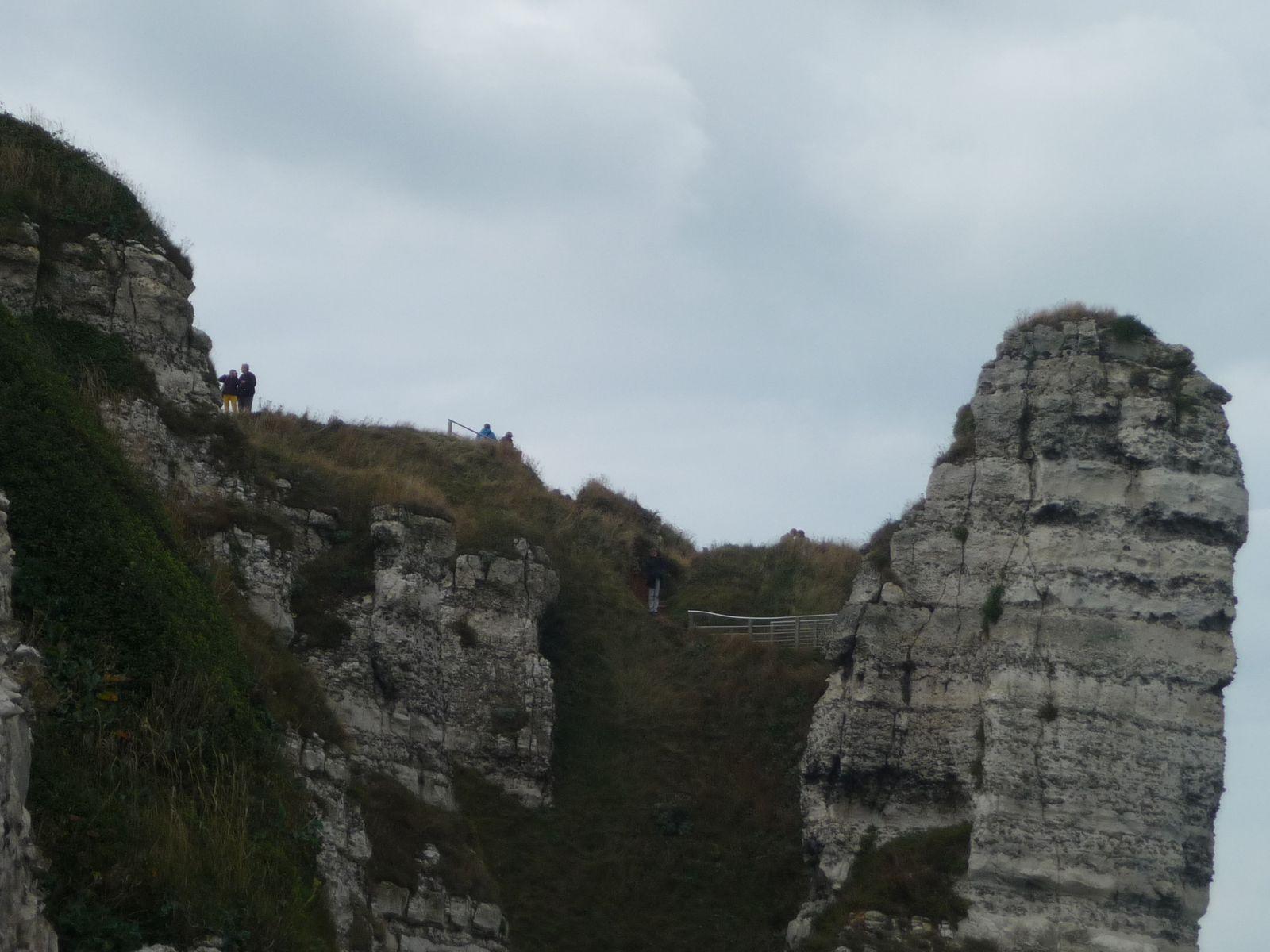 ETRETAT ! du haut des falaises