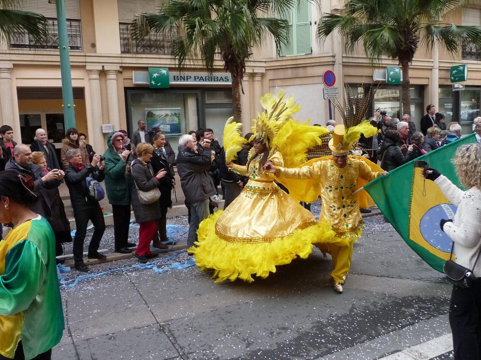 LE CORSO DE LA FÊTE DU CITRON A MENTON ! fin