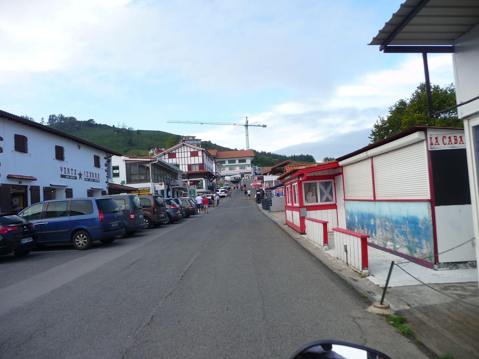 LE COL D'IBARDIN ! pays Basque Espagnol