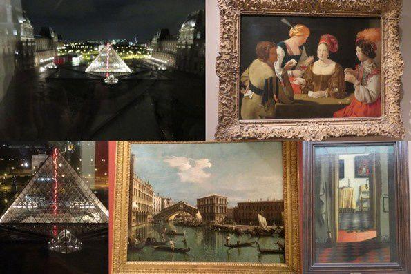 Un mercredi au Louvre ...