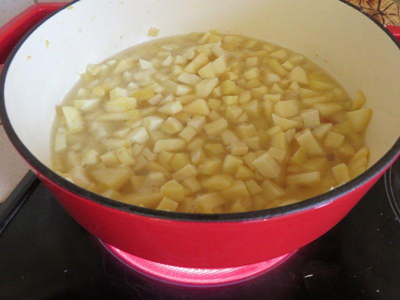 Velouté de panais aux pommes