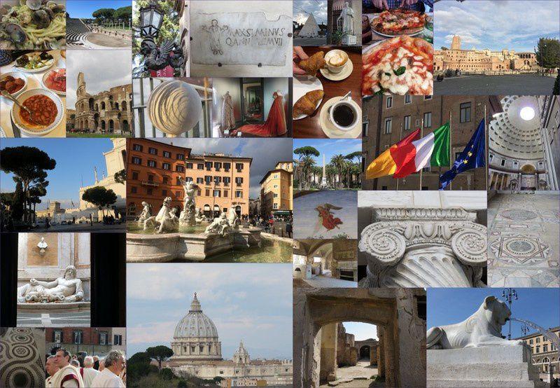 A Rome, en fin d'hiver