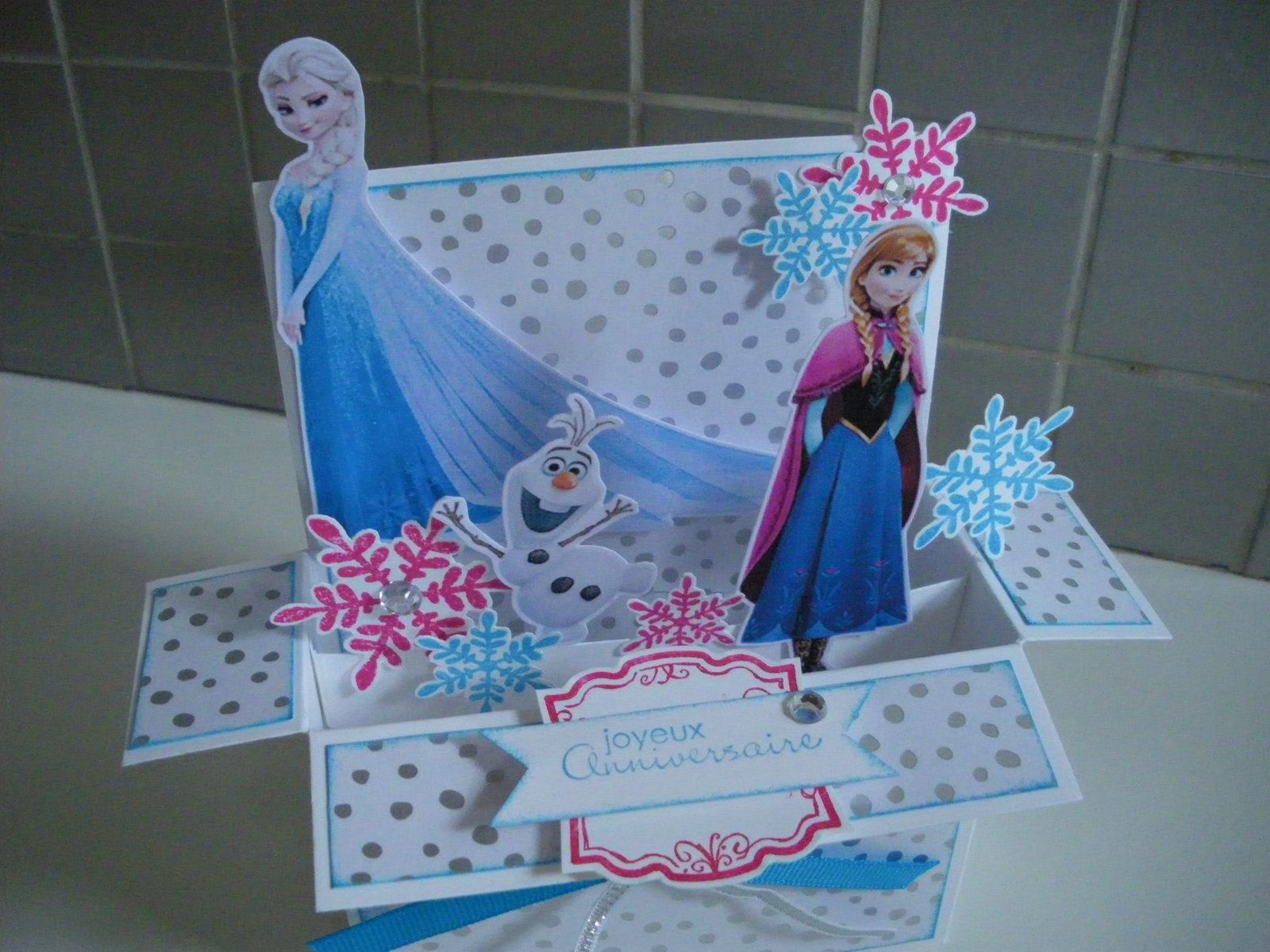 Pop Up Reine des Neiges