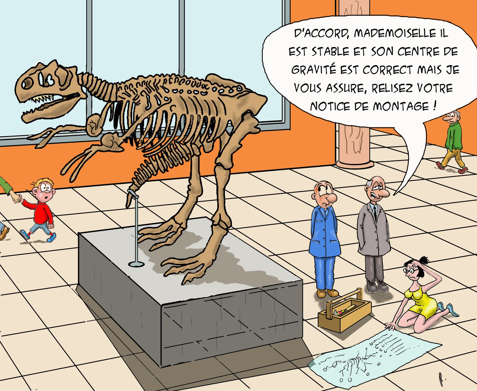 Dinausorus érectus