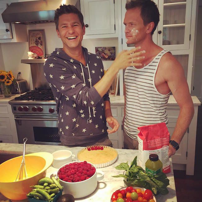 Neil Patrick Harris & David Burtka (heureux parent de 2 enfants)