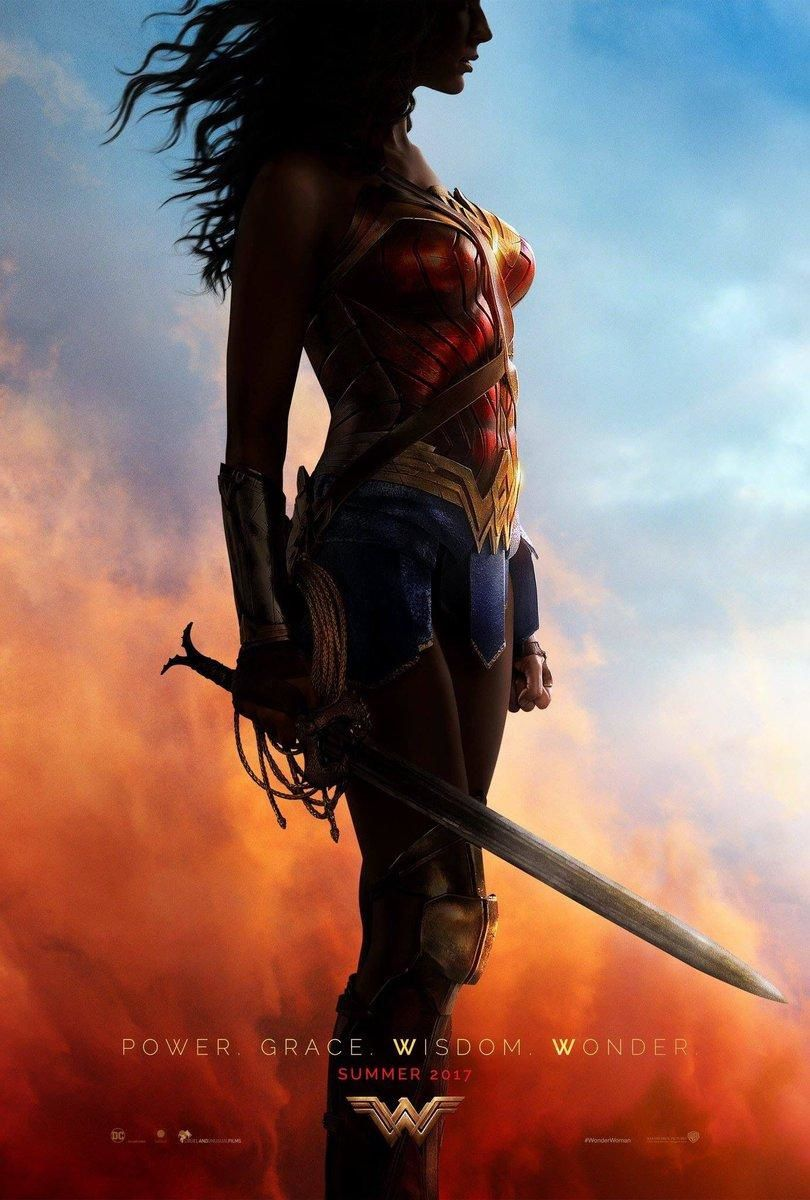 Le poster et le trailer de Wonder Woman
