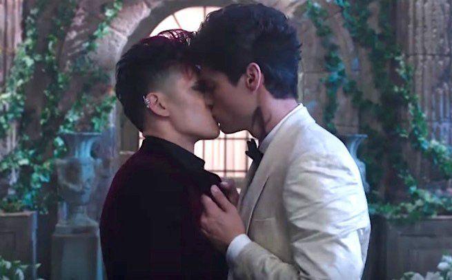 Les couples gay du petit et du grand écran 2016
