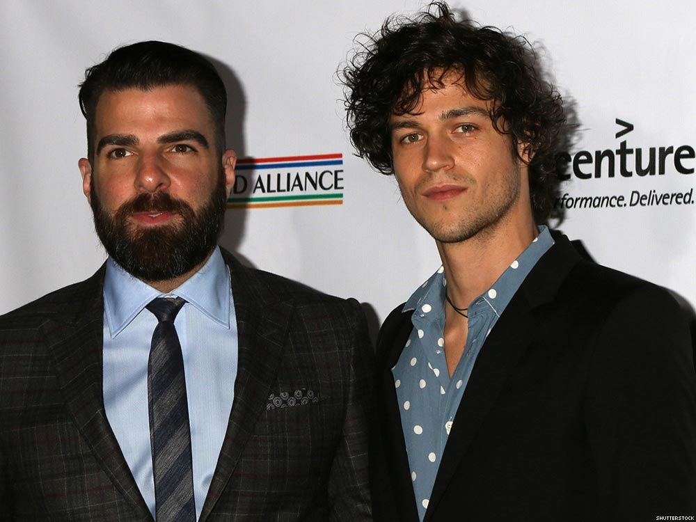 Zachary Quinto (40 ans) et Miles McMillan (27 ans)