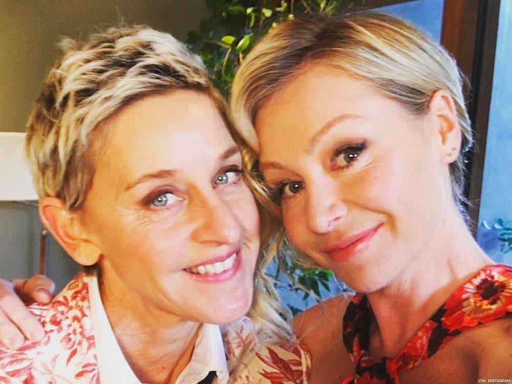 Ellen Degeneres (59 ans) et Portia De Rossi (44 ans)