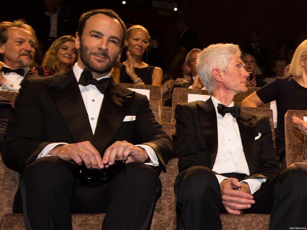 Tom Ford (55 ans) et Richard Buckley (69 ans)