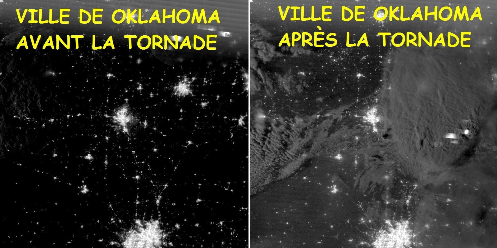 TORNADE MONSTRE EN OKLAHOMA