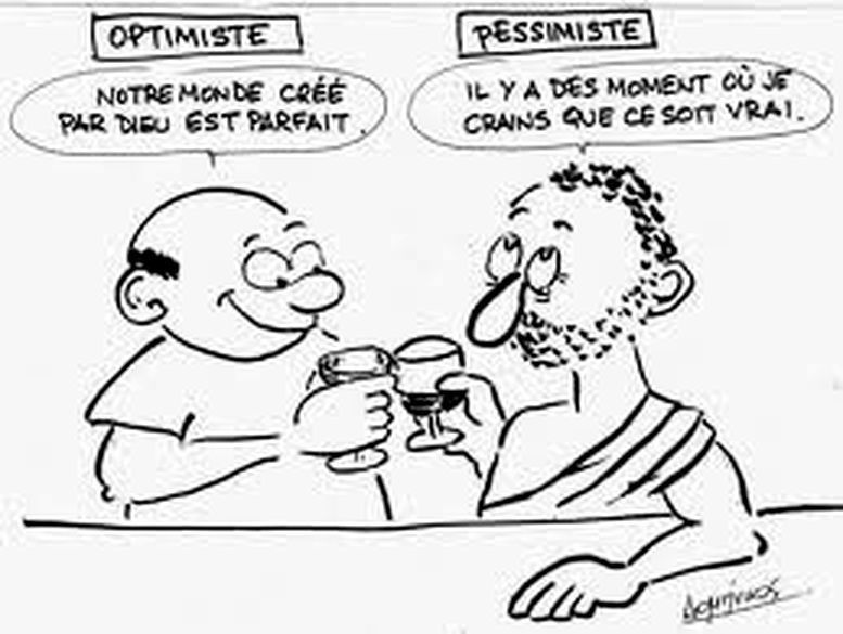 ÊTES - VOUS PESSIMISTE OU OPTIMISTE ?( VIDEO )