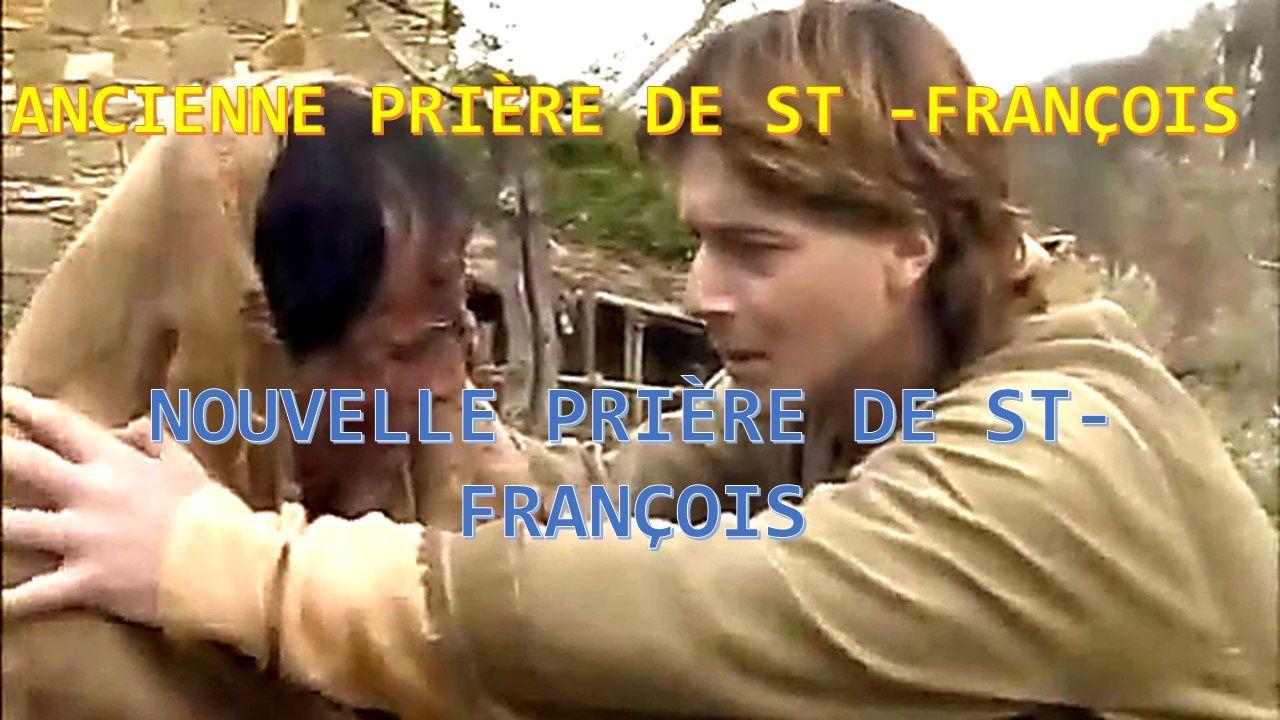 NOUVELLE PRIÈRE DE ST-FRANÇOIS ( VIDEO )