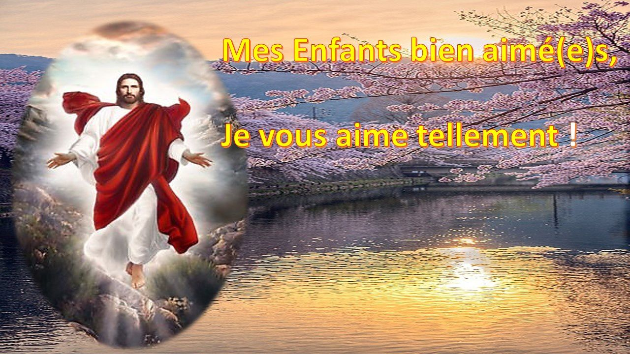 MESSAGE DE MÉDITATION DU 3 AVRIL 2015