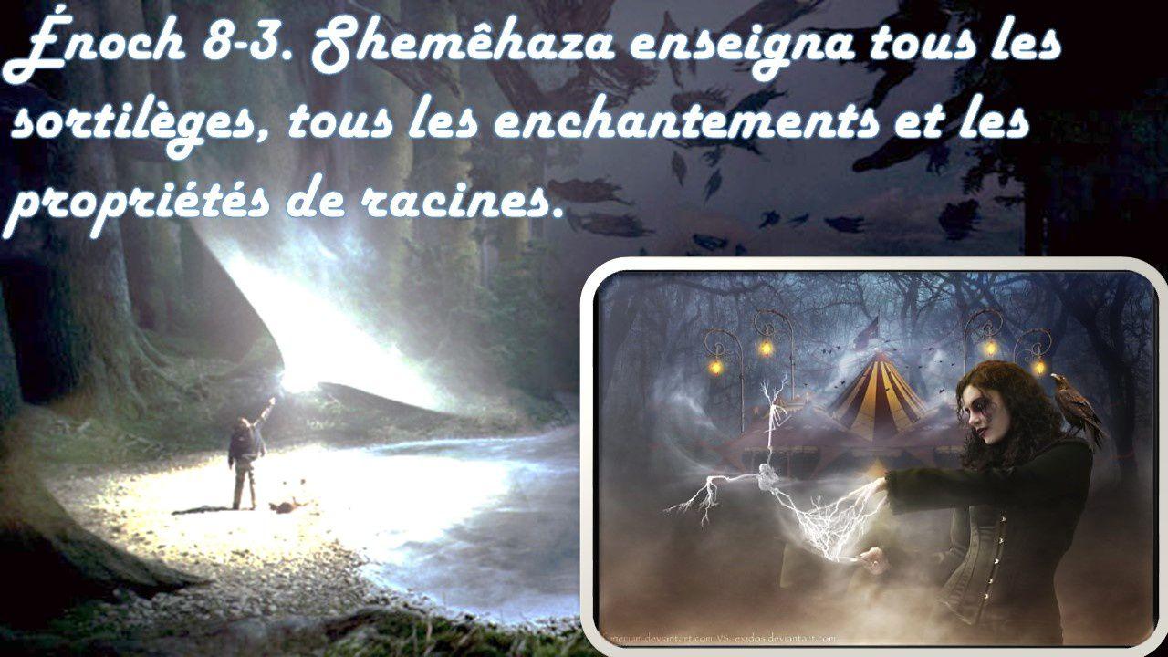 LE LIVRE D'ÉNOCH ( L'HISTOIRE DES ANGES DÉCHUS ) PARTIE 1