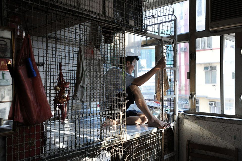 LES PAUVRES DE HONGKONG :LES RÉFUGIÉSMAC - LA VIE DANS DES CAGES