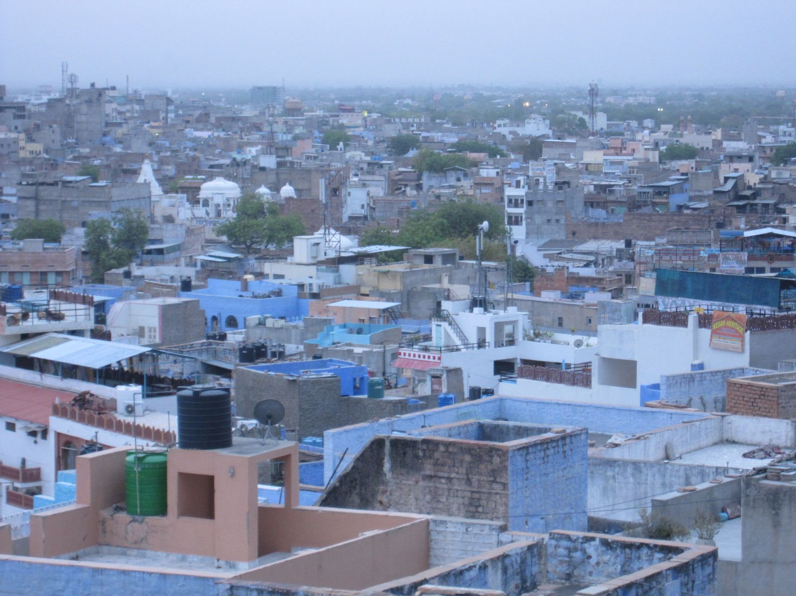 Jodhpur: blue city