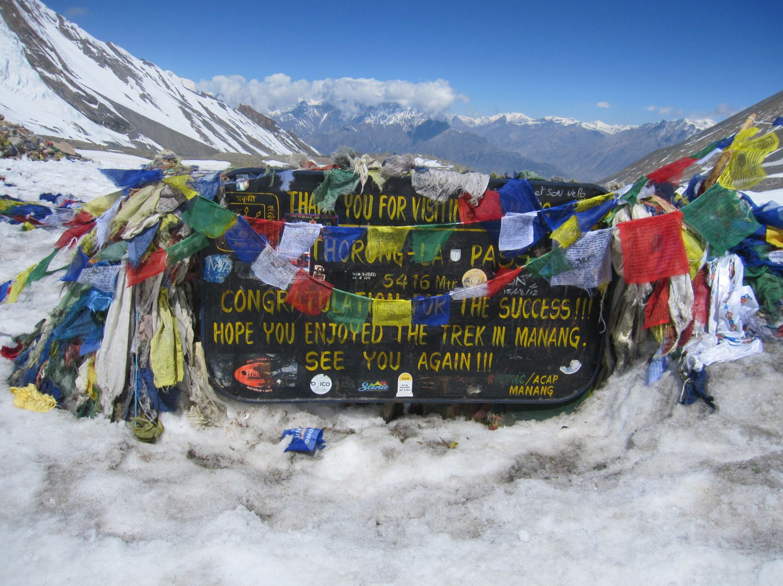 Thorung la Pass - 5416m