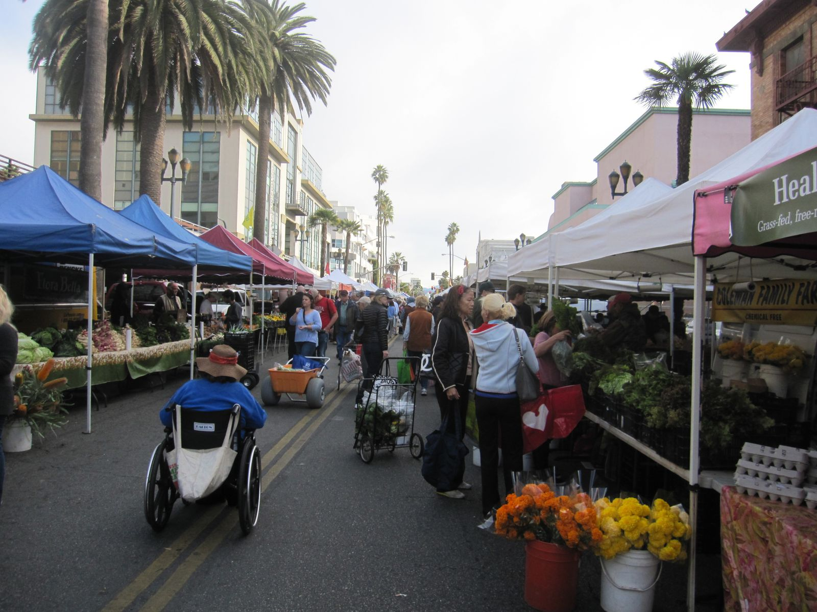 Los Angeles: Market time