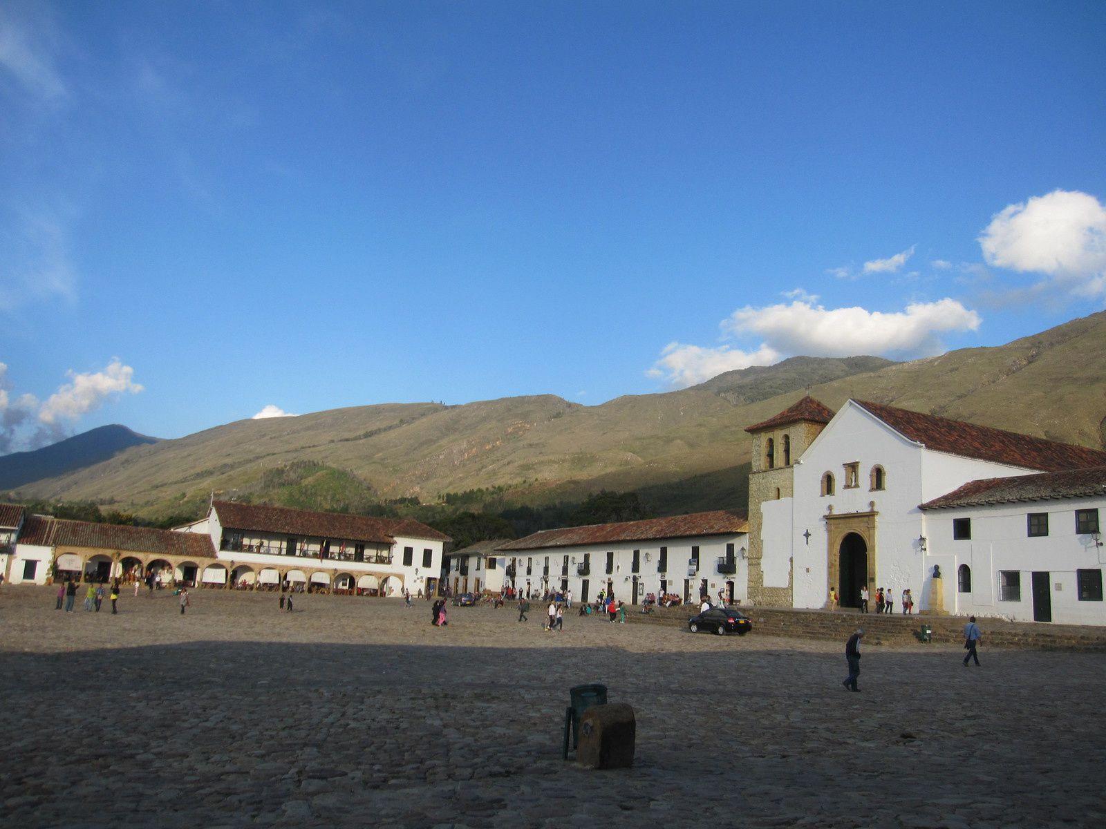 Villa de Leyva: Largissima plaza mayor