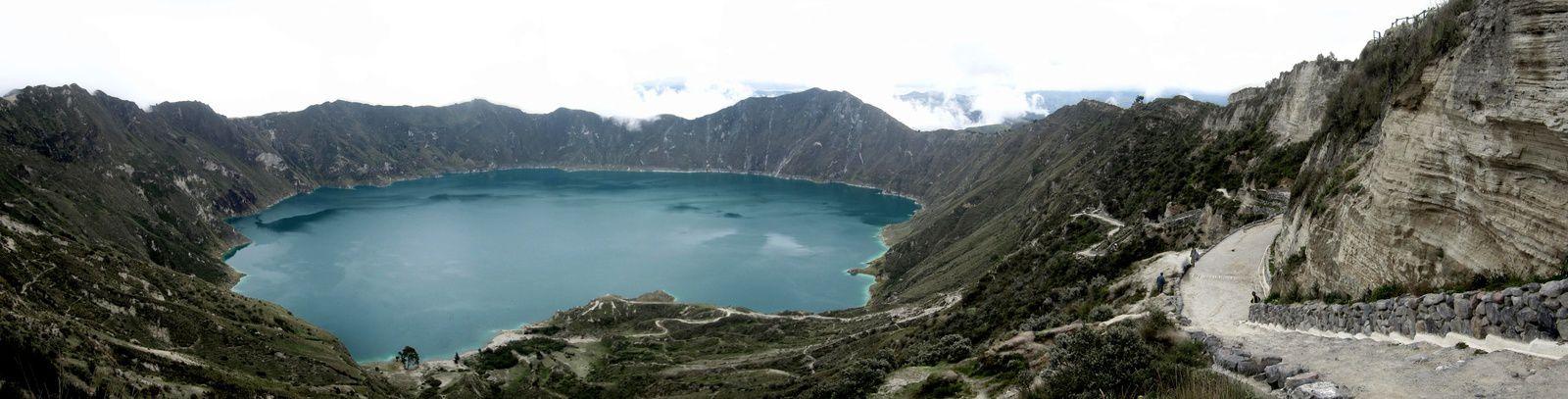 Quilotoa: La laguna!!