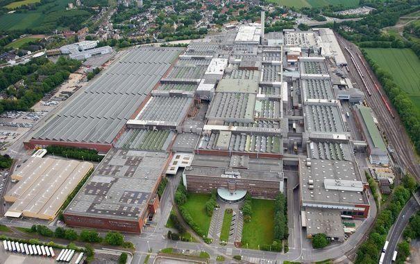 Opel usine de Bochum qui va fermer en 2014